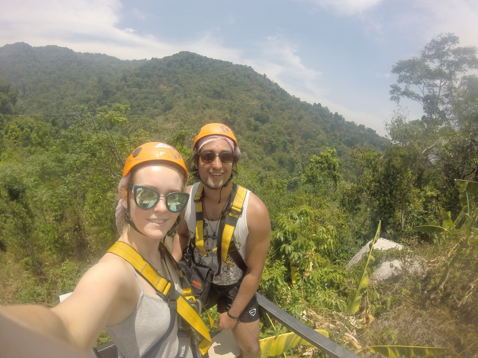 chiang mai thailand travel blogger skyline jungle zipwire